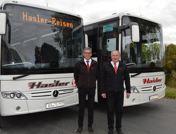 Roland und Helmut Hasler